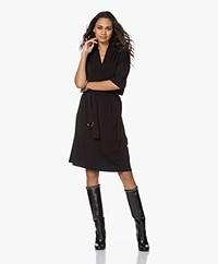 By Malene Birger Sora Crepe Jersey Dress - Black
