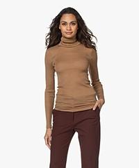 HANRO Karla Wool-Silk Long Sleeve - Cinnamon