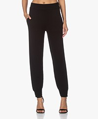 Rag & Bone Logan Cashmere Knitted Pants - Black