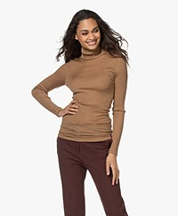 HANRO Karla Wool-Silk Long Sleeve - Cinnamon