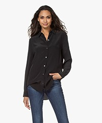 Equipment Essential Zijden Blouse - True Black