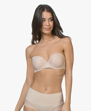 SPANX® Up For Anything Strapless BH - Champagne Beige
