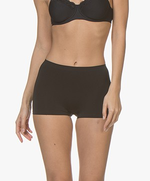 HANRO Touch Feeling High-rise Short - Zwart