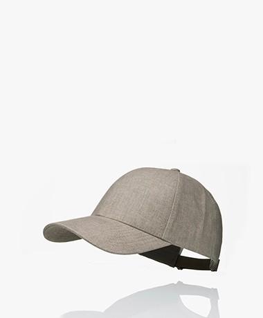 Varsity Headwear Linnen Pet - Argent Khaki