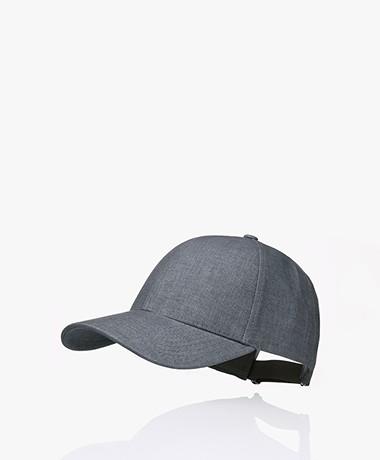 Varsity Headwear Linnen Pet - Cliff Grey