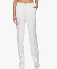Filippa K Joyce Viscosemix Pantalon - White Chalk