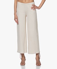 by-bar Poppy Knitted Wide-leg Pants - Linen