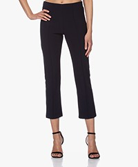 By Malene Birger Viggie Bonded Jersey Pants - Night Sky