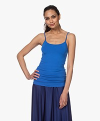 Closed Katoenen Jersey Basic Top - Bluebird