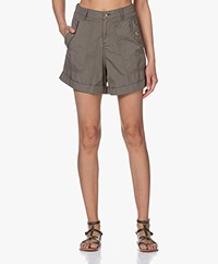 MKT Studio Pachou Cotton Shorts - Army Green