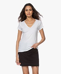 Zadig & Voltaire Tunisien Mc Destinee Strass T-shirt - White