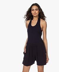 extreme cashmere N°137 Cashmere Gebreide Bodysuit - Navy
