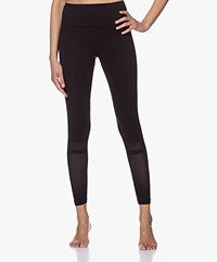 Filippa K Soft Sport Mesh Leggings - Black