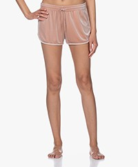 Filippa K Soft Sport Sporty Velvet Short - Dusty Rose