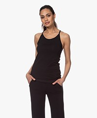 Filippa K Soft Sport Cotton Strap Tank - Black