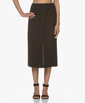 Filippa K Kate Midi Skirt - Black