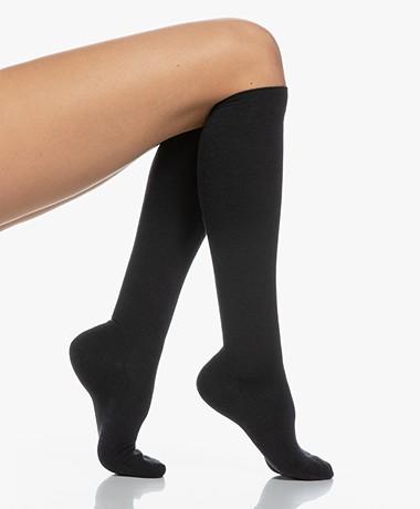 FALKE Softmerino Knee Socks - Dark navy