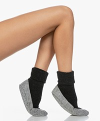 FALKE Cosy Shoe Socks - Black