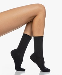 FALKE Family Anklet Socks - Dark Navy