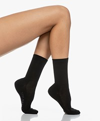 FALKE Family Anklet Socks - Black