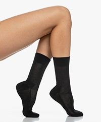 FALKE Sensitive Malaga Sokken - Zwart