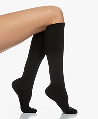 FALKE Softmerino Knee Socks - Black