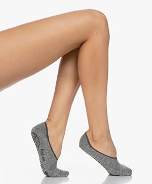 FALKE Cosy Ballerina Women No Show Socks - Light Grey Melange