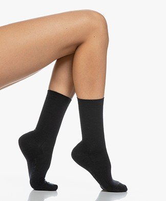 FALKE Softmerino Socks - Anthracite Grey Melange
