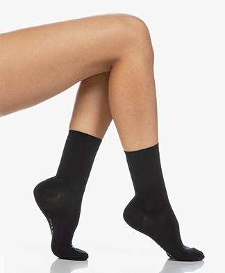 Falke Cotton Touch Women Socks - Dark Navy