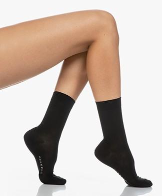 Falke Cotton Touch Women Socks - Black