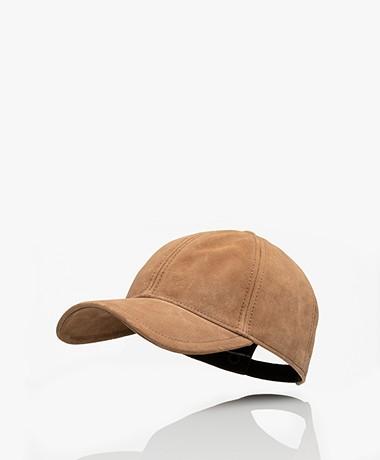 Rag & Bone Marilyn Suède Baseball Cap - Camel