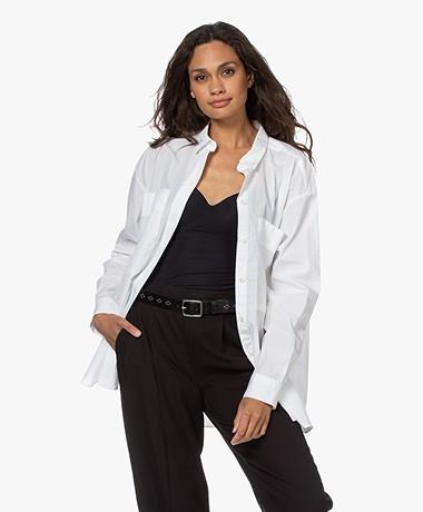 Closed Kara Organic Cotton Poplin Shirt - White