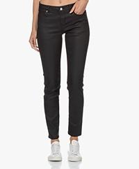 MKT Studio The Bardot Wax Skinny Jeans - Zwart