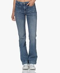 by-bar Duke Gina NRX Flared Jeans - Denim