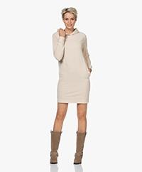 Majestic Filatures Soft Touch Sweaterjurk met Capuchon - Cream