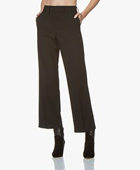 Closed Blaire Twill Culottes - Black
