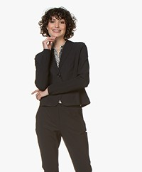 Josephine & Co Gieles Travel Jersey Blazer - Black