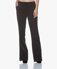 ANINE BING Jocelyn Corduroy Pants - Navy