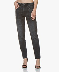 Drykorn Cushy Loose-fit Jeans - Donkergrijs