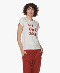Rag & Bone RB Vintage T-shirt - Light Dove