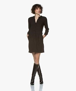 by-bar Nathalie Crepe Dress - Black
