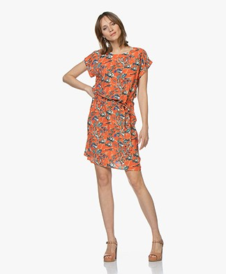 Marie Sixtine Delphy Dress with Print - Sea