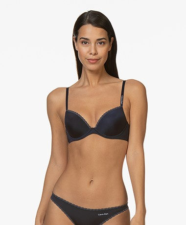 Calvin Klein Seductive Comfort Push-Up BH - Shoreline