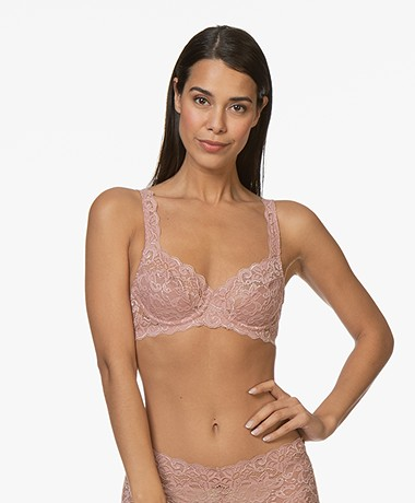 HANRO Moments Underwire Soft Bra - Rouge