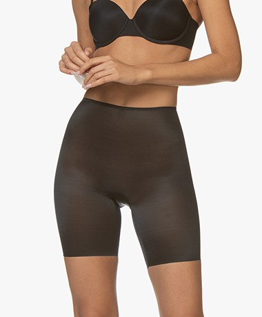 SPANX® Skinny Britches Mid-Thigh Short - Very Black