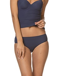 HANRO Allure Midi Briefs - Elegant Blue