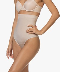 SPANX® Suit Your Fancy High-Waisted Thong - Champagne Beige