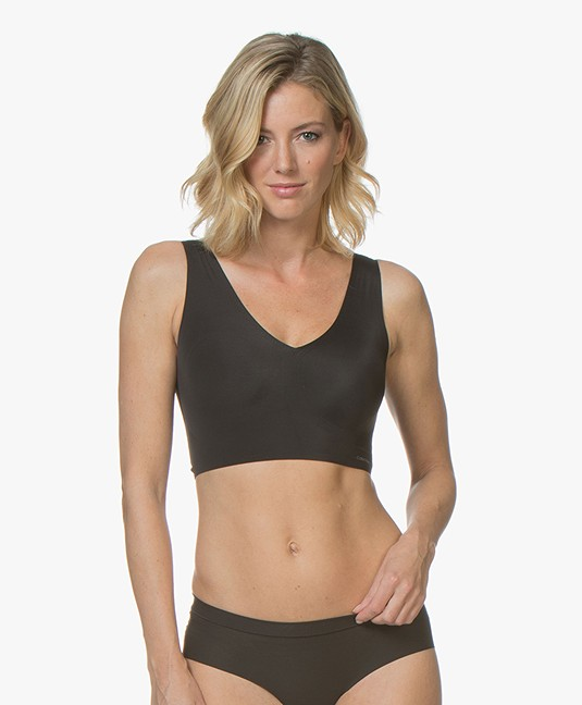 Calvin Klein Invisibles Light Lined Bralette - Zwart