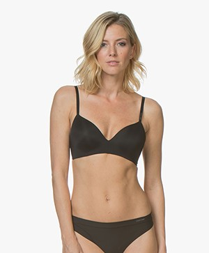 Calvin Klein Form Lightly Lined Demi BH - Zwart