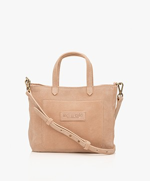 indi & cold Suede Shoulder Bag - Pétalo